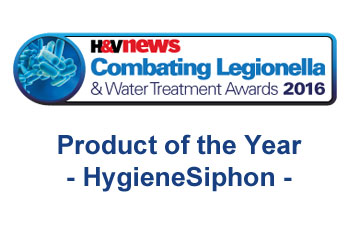 Winner for Product of the Year at the Combating Legionella Awards